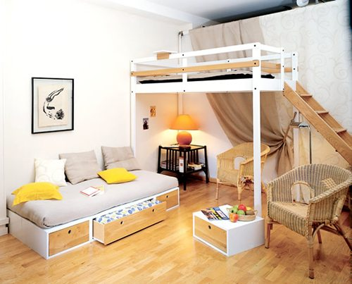 Interior-Design-for-Small-Spaces-Bedroom