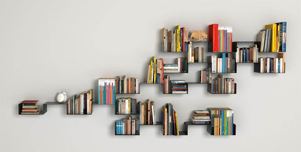 unique-bookshelves-designs-inspiration-for-interior-mounted-on-wall